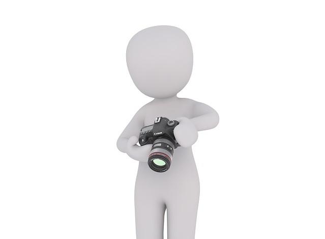 Bild Figur mit Kamera