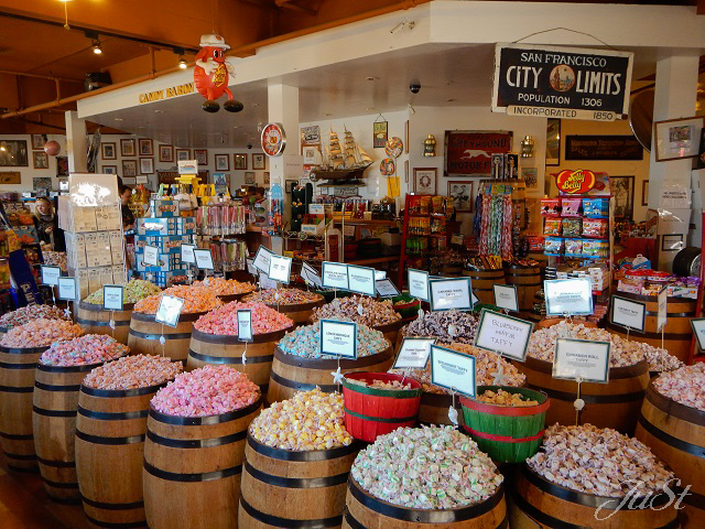 Bild Süssigkeitenladen am Pier 39