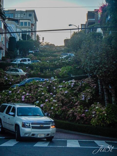 Bild Autos Lombard Street