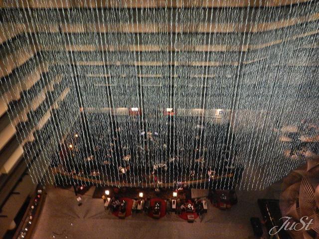 Bild Blick auf die Lobby im Hyatt