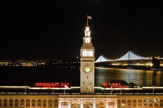 Bild Hafen bei Nacht