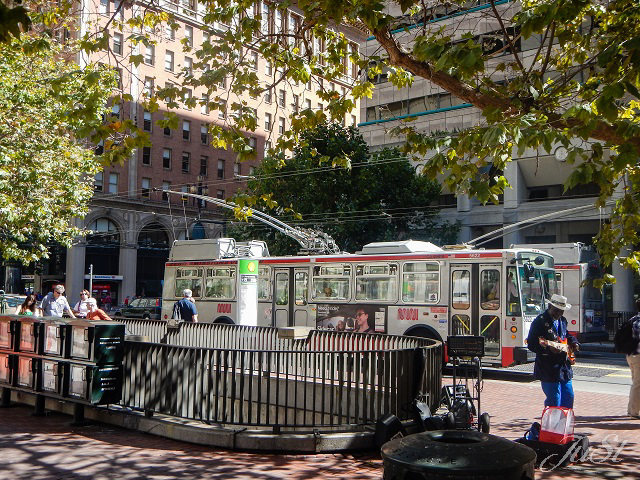 Bild Oberleitungsbus San Francisco