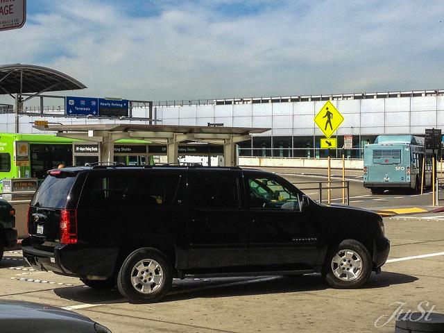 Bild Taxi zum Flughafen San Francisco