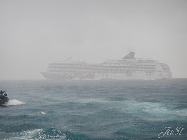 Bild Regen im Hafgen von Kona