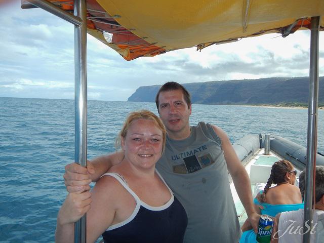 Bild Wir vor der Na Pali Coast