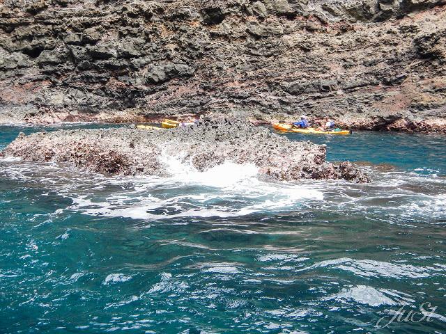 Bild Innere der Höhle Na Pali