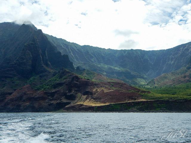 Bild Na Pali Coast noch ohne Nebel