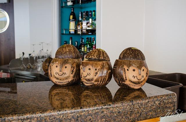 Bild Kokosnüsse als Getränkebecher