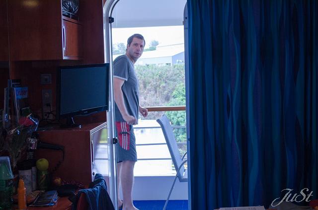 Bild Alex im Zimmer in Nawiliwili