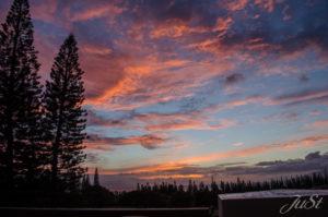 Bild Sonnenuntergang Kapalua 1