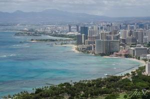 Bild Blick auf Honolulu