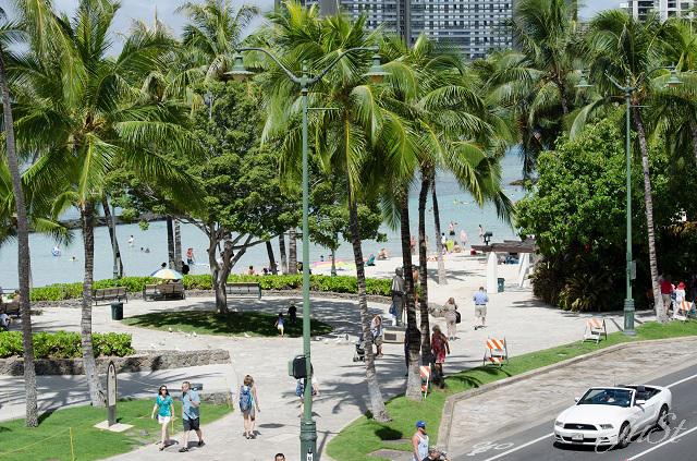 Bild Waikiki Beach am Abreisetag