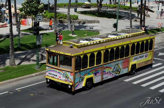 Bild Bus in honolulu
