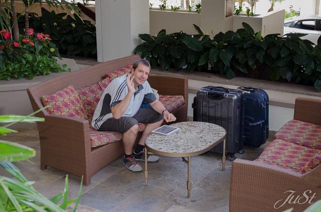Bild Alex bei der Abreise
