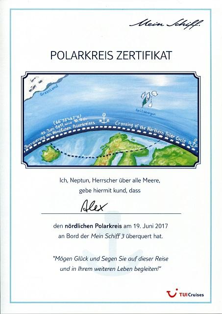 Reiseberichte: Nordland-Kreuzfahrt 2017 - Die Seetage