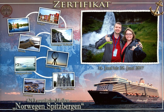 Bild Zertifikat Nordland