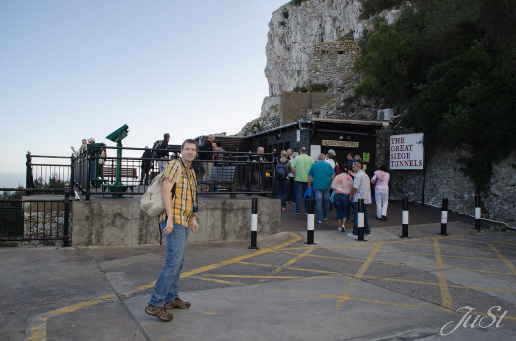 Bild Eingang zum Belagerungstunnel
