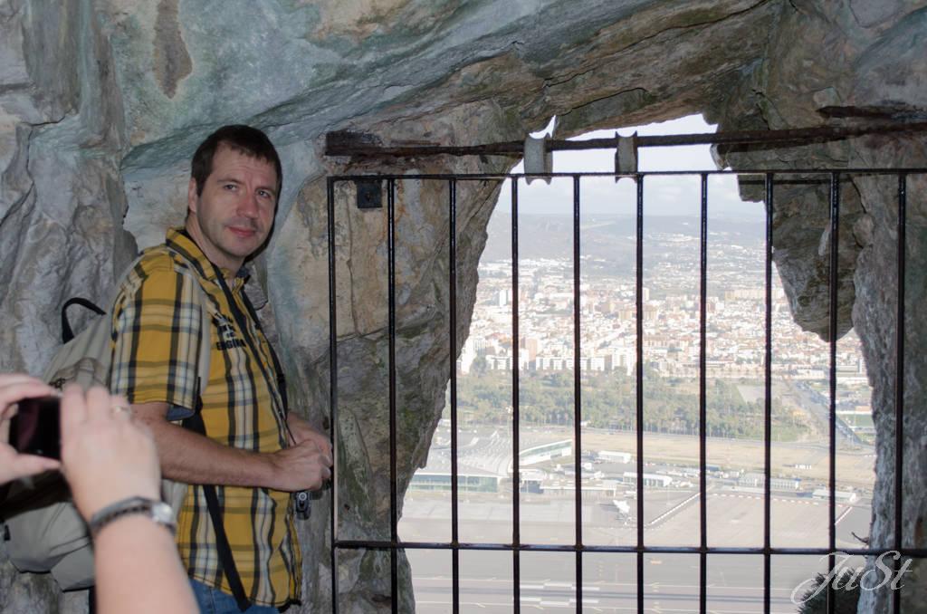 Bild Alex im Belagerungstunnel