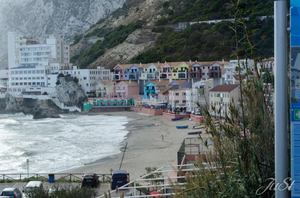 Bild Kleine Stadt auf Gibraltar