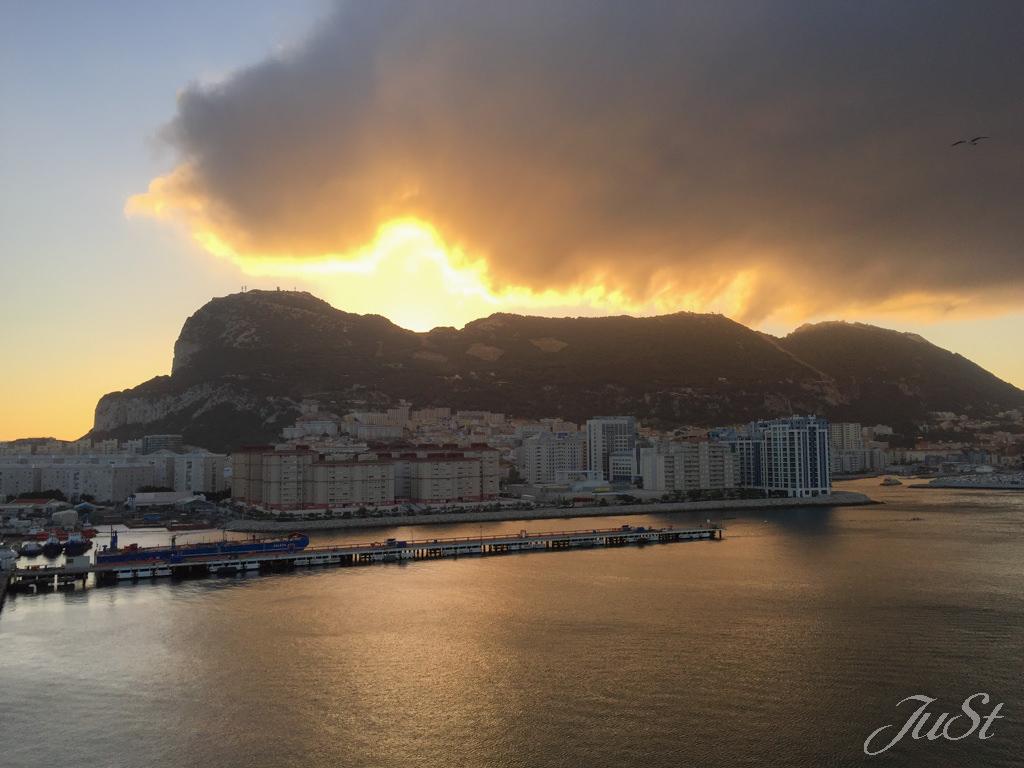 Bild Sonnenaufgang Gibraltar