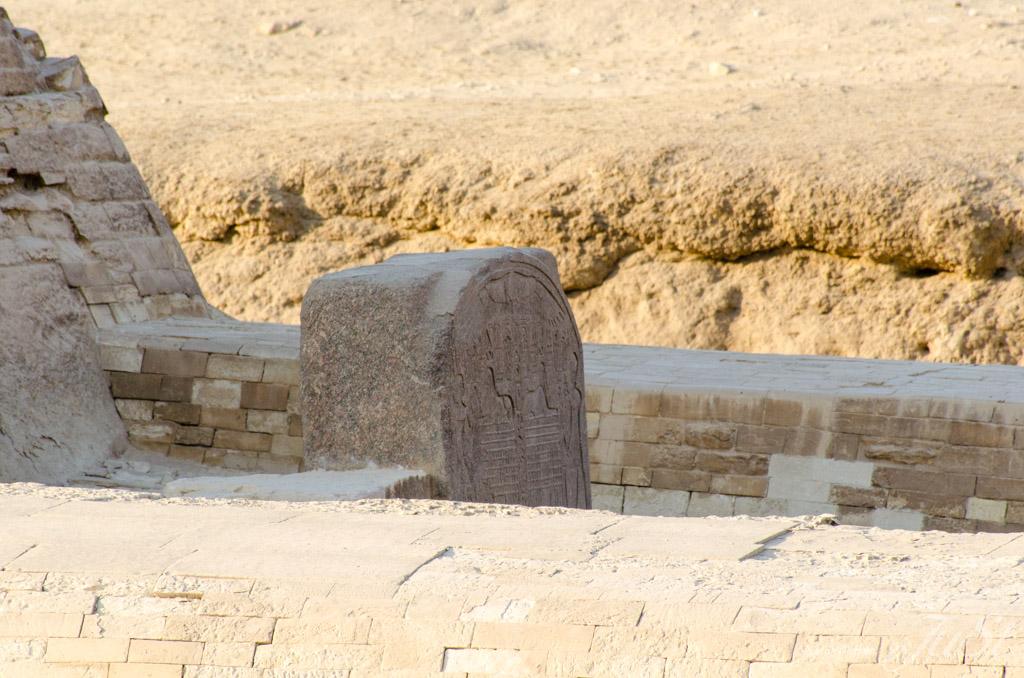 Verfall der Große Sphinx von Gizeh