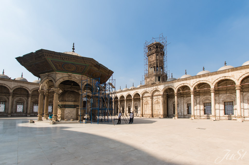 Innenhof der Moschee