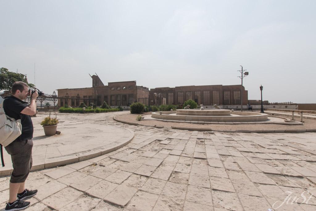 Vorplatz der Moschee in Kairo