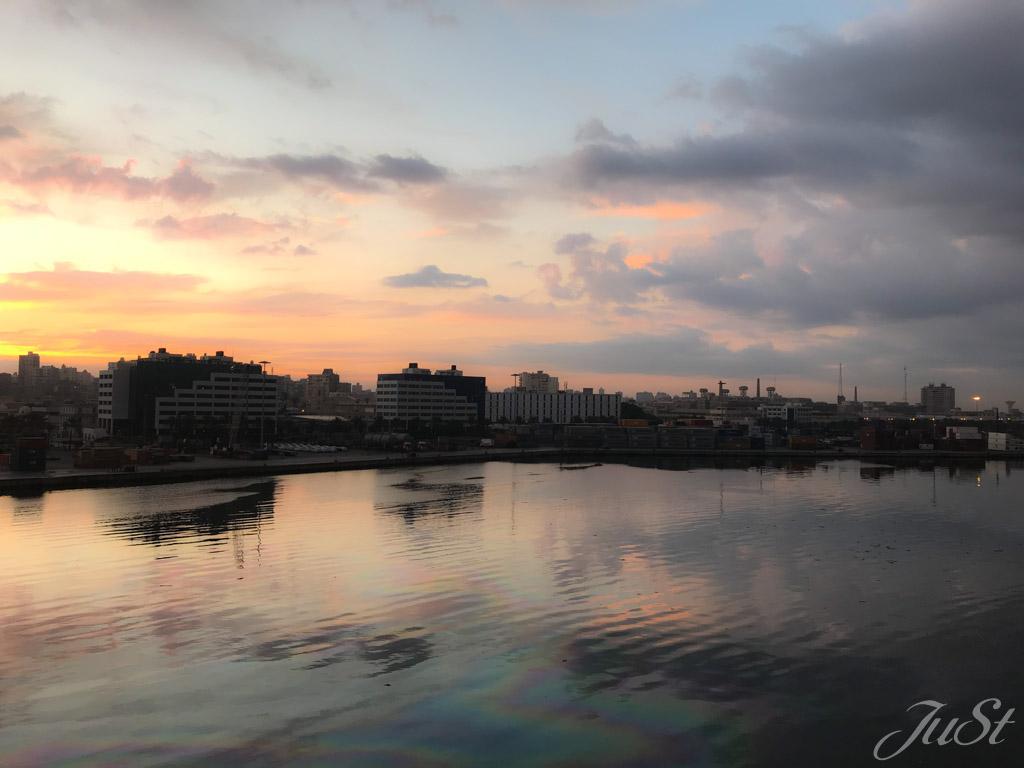 Alexandria vom Schiff aus