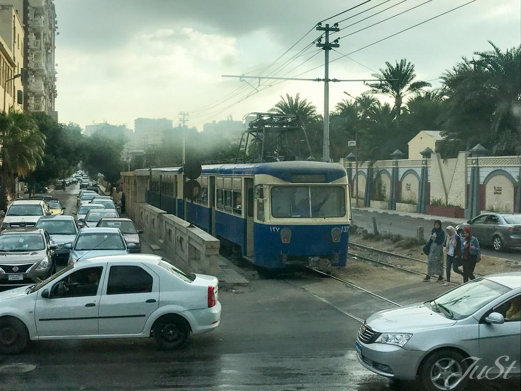 Straßenbahn in Alexandria