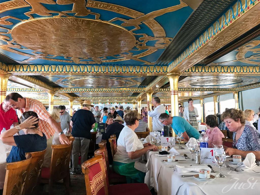 Mittagessen auf dem Nilboot