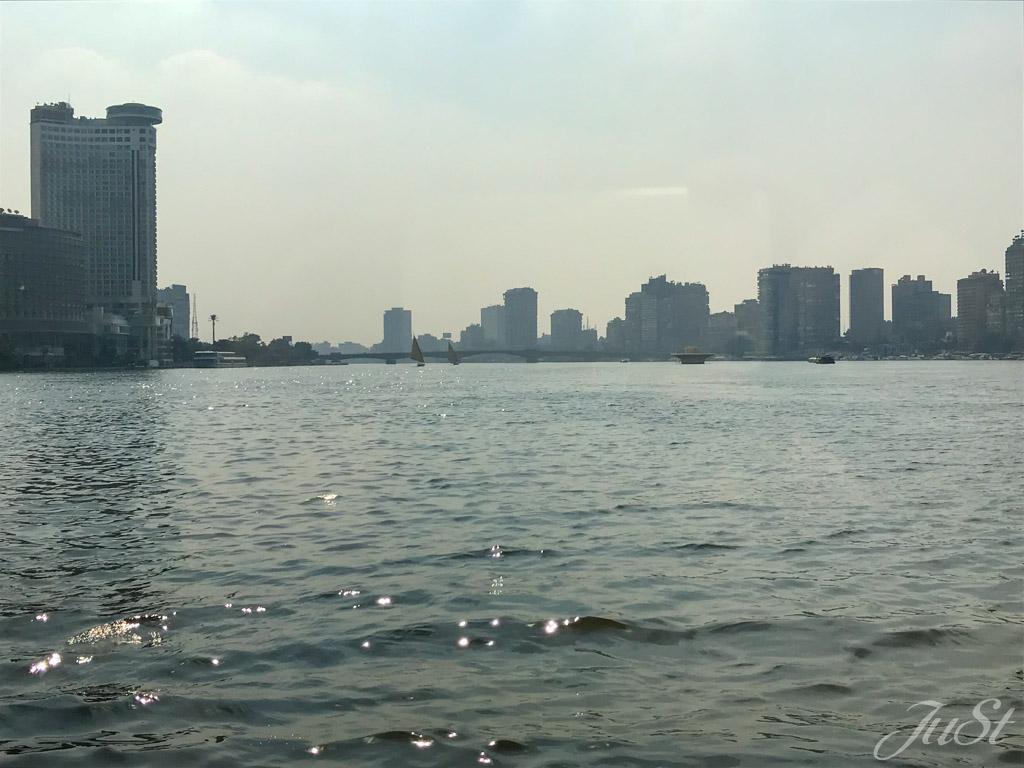 Kairo vom Nil aus
