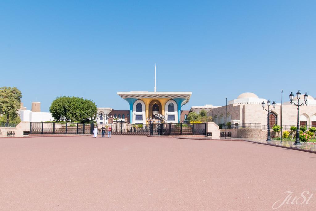 Palast von Muscat