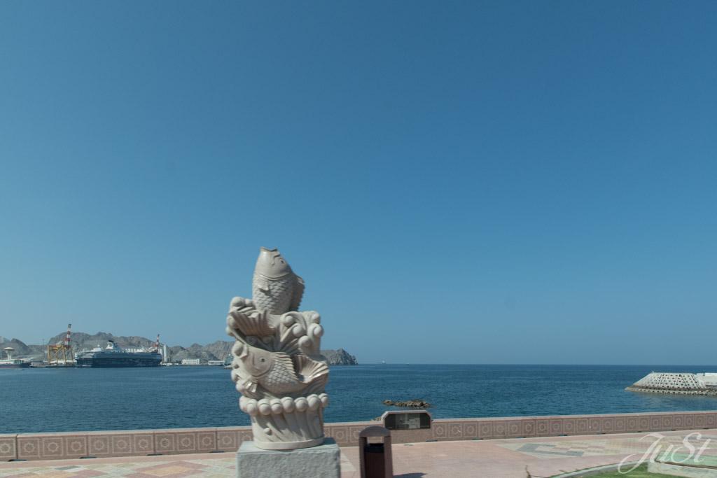 Mein Schiff 1 im Hafen von Muscat