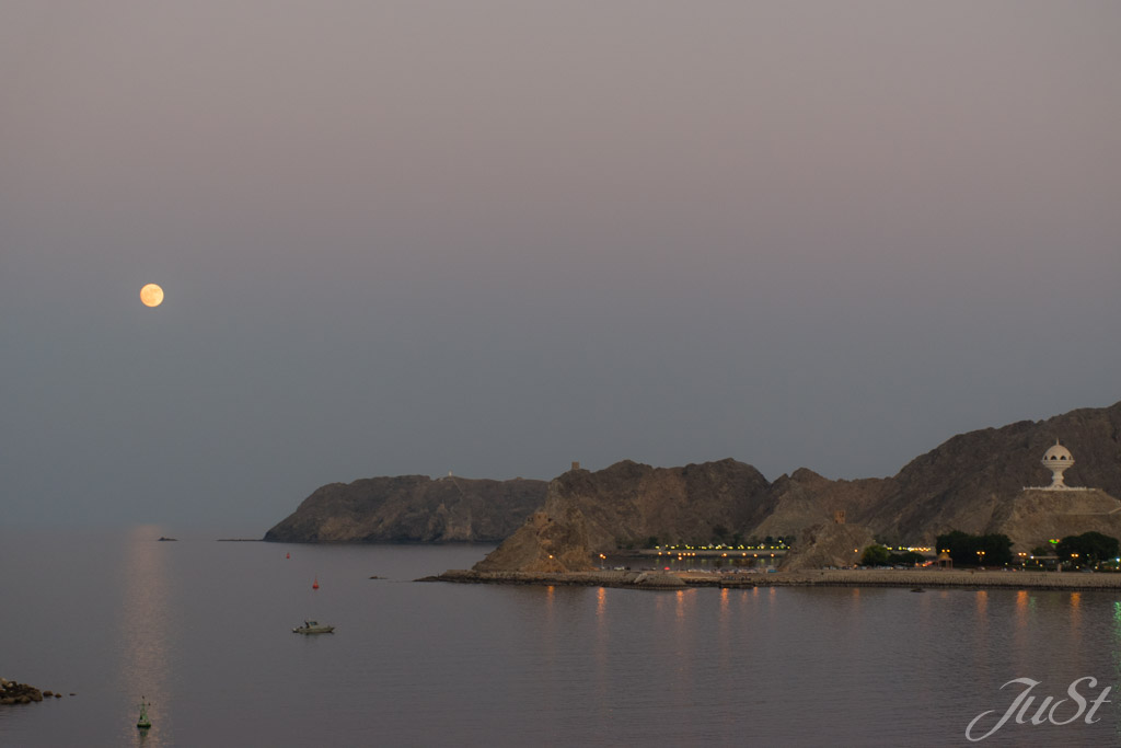 Hafenausfahrt Muscat