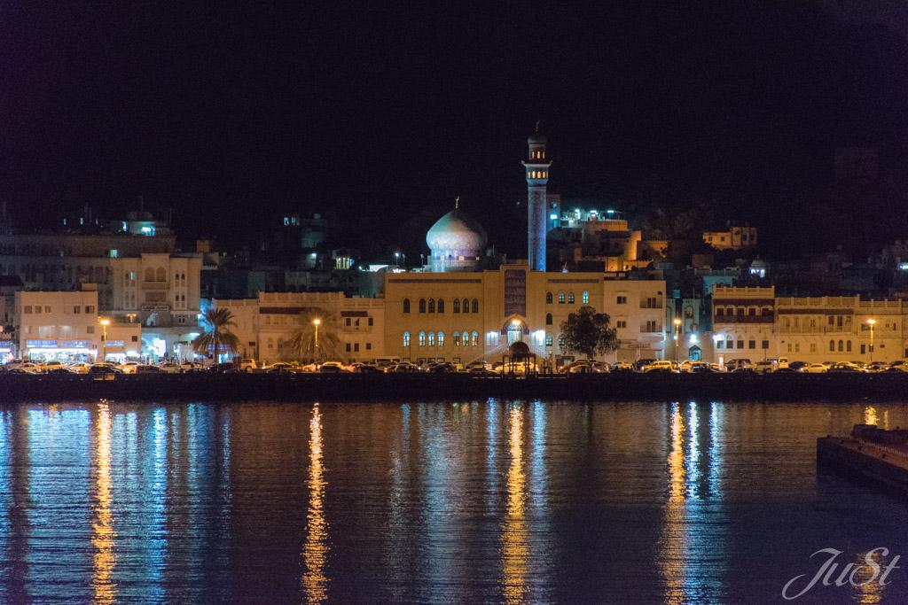 Blick auf Muscat