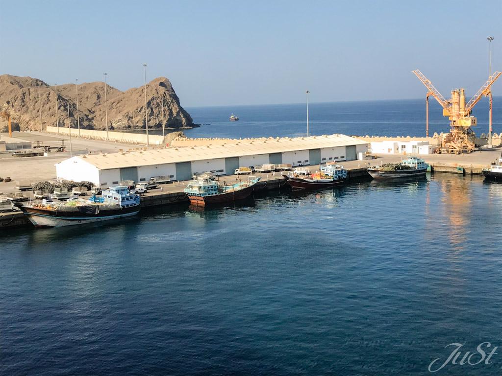 Hafen Muscat
