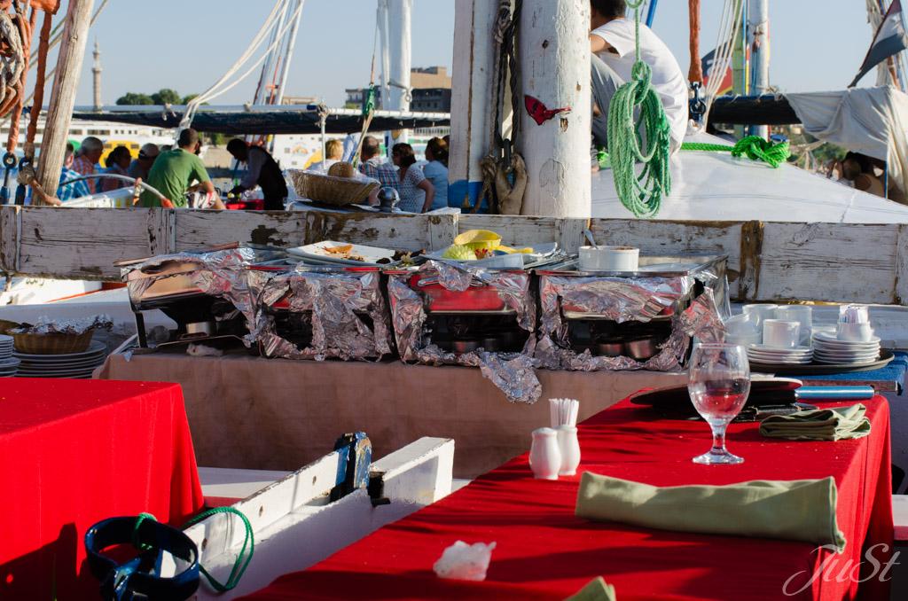 Mittagessen Nil