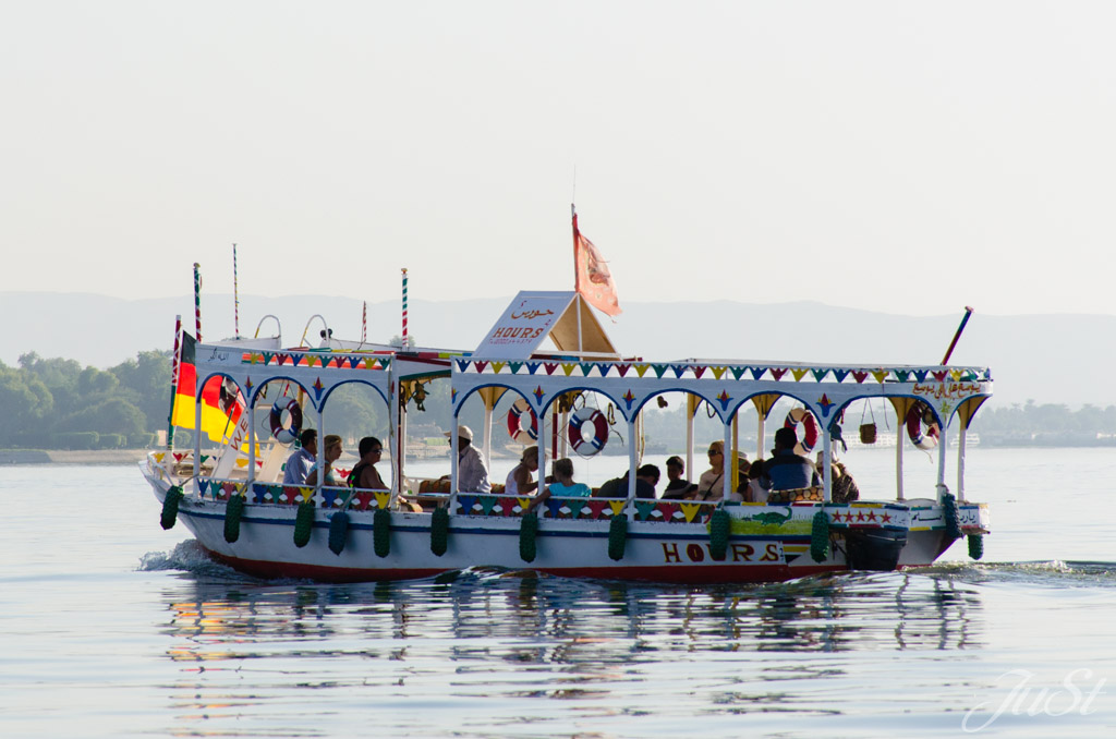 Bootsfahrt Nil