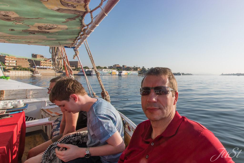 Mittagessen auf dem Nil