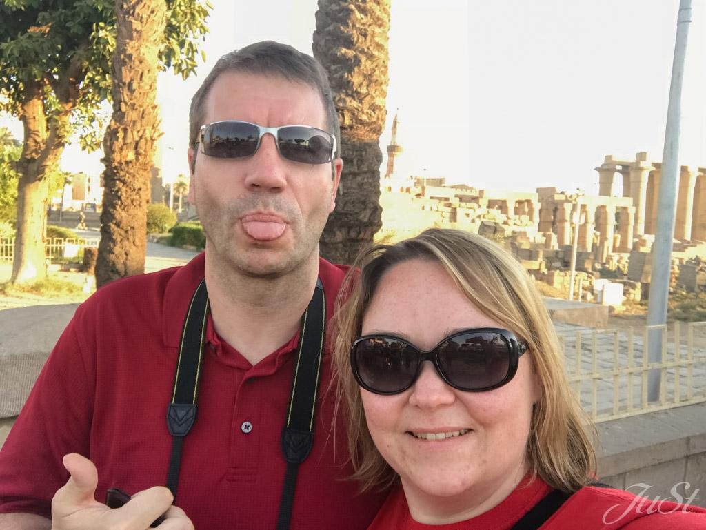 Jule und Alex in Luxor