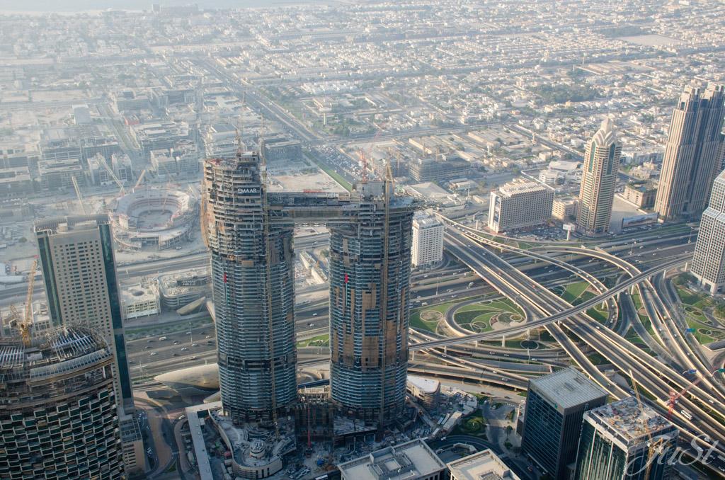 Dubai von oben