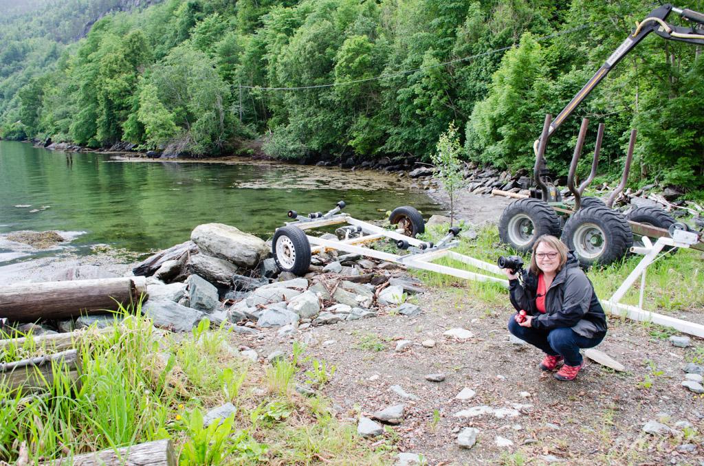 Jule und Ente im Fjord