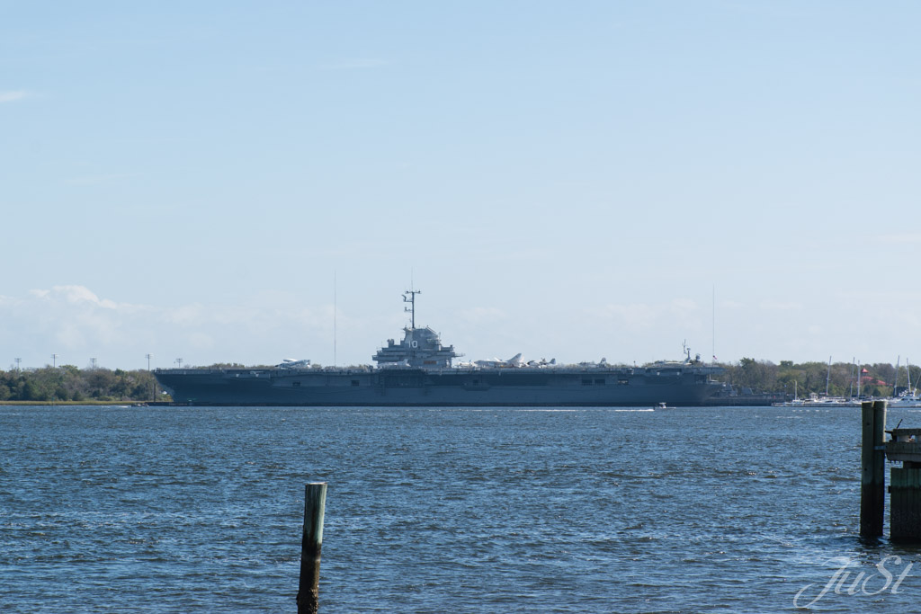 USS Yorktown am Patriots Point