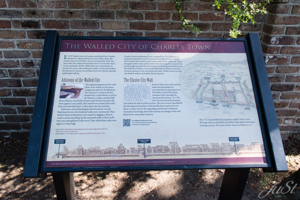 The Walled City of Charles Town