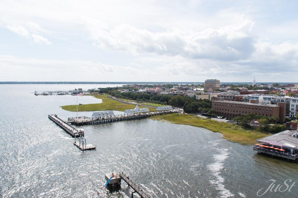 Hafen von Charleston