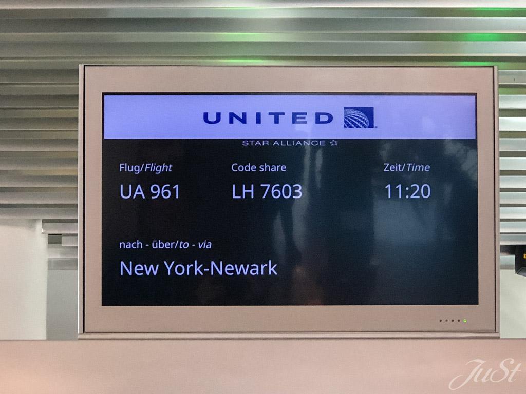 Flug nach Newark