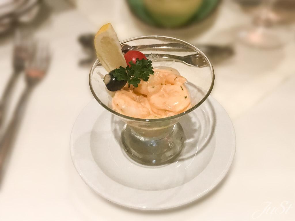 Klassischer Shrimp-Cocktail