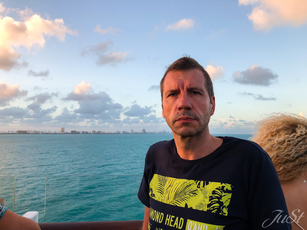 Alex beim Ausflaufen in Miami