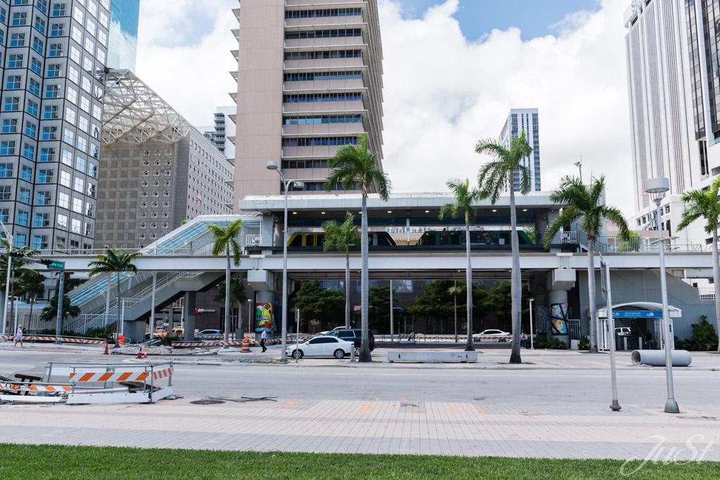Metromover Station Miami