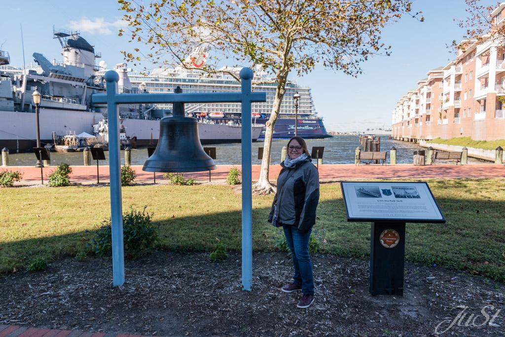 USS Norfolk Bell